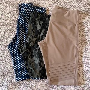 Leggings 3 set bundle